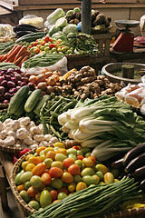 market vegetables