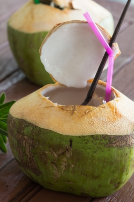 Coconut Water Drink by tiverylucky/FreeDigitalPhotos